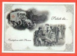 CASTIGLIONE DELLE STIVIERE- CROCE ROSSA - ANNIVERSARIO FONDAZIONE - MARCOFILIA - Croce Rossa