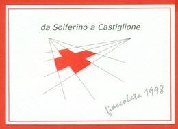 CASTIGLIONE DELLE STIVIERE- CROCE ROSSA - FIACCOLATA 1998- - MARCOFILIA - Croce Rossa