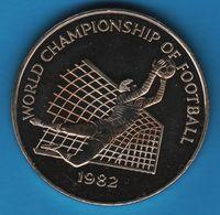 JAMAICA 1 DOLLAR 1982 Football Word Cup 1982  KM# 96 - Jamaica