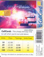 IRELAND - Economy(30/97)(100 Units), Chip ODS 3, 08/96, Used - Ireland
