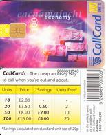 IRELAND - Economy(08/97)(100 Units), Chip ODS 3, Tirage 10000, 08/96, Used - Ireland