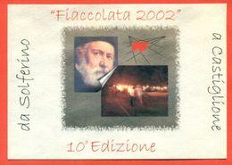 CASTIGLIONE DELLE STIVIERE- CROCE ROSSA -FIACCOLATA 2002 - MARCOFILIA - Croce Rossa