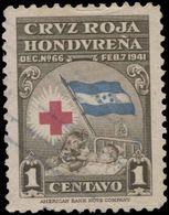 Honduras Scott #RA- 3, 1¢  Brownm Carmine & Blue (1945) Mother And Child, Used - Honduras