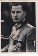 AK Propaganda Ritterkreuz Leutnant Leon DEGRELLE - Künstlerkarten