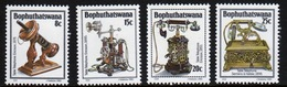 Bophuthatswana Set Of Stamps Celebrating History Of The Telephone (2nd Series) From 1982. - Bophuthatswana