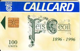 IRELAND - Feis Ceoil(100 Units), Chip GEM1.3, Tirage %12000, 03/96, Used - Ireland