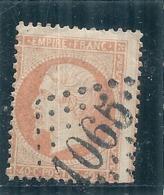 FRANCE  Napoléon Dentelé 40 Cts Orange Oblitéré Cognac  - N° 23 Côte 15€ - 1862 Napoleone III
