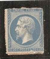 FRANCE  - N° 22 Neuf Sans Gomme TROISIEME CHOIX Côte 100€ - 1862 Napoleon III