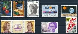 2805-2813 Einwandfrei Postfisch/** - 1931-Aujourd'hui: II. République - ....Juan Carlos I
