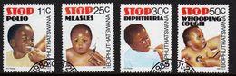 Bophuthatswana Set Of Stamps Celebrating Health From 1985. - Bophuthatswana