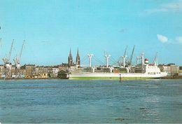 CPA-1980-BORDEAUX-CARGO IVOIRIEN-YAKASSE- Cie IVOIRIENNE SITRAM-TBE-RARE - Commerce