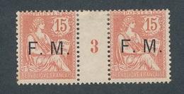 CC-113:FRANCE: Lot Avec FM N°2* Millésime 3 - Millésimes