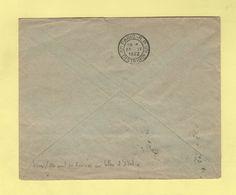 Flier - Paris RP 5 Distribution - Bloc Dateur Seul En Arrivee Sur Lettre D'Italie - 1932 - Marcophilie (Lettres)
