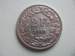SUISSE - SCHWEIZ    2 Francs  1910 - Svizzera