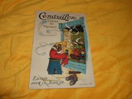 LIVRE ANCIEN CENDRILLON CONTES DE PERRAULT. EDITION POUR LA JEUNESSE. N°581. - Contes