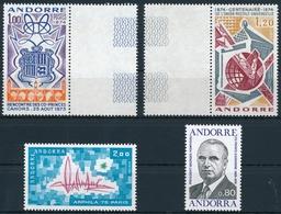 Andorra 260, 263, 269-270 Einwandfrei Postfisch/** - Andorre Français