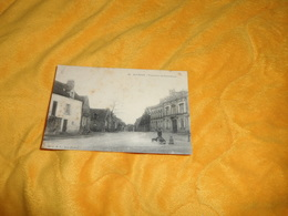 CARTE POSTALE ANCIENNE CIRCULEE DE 1915. / ALENCON.- FAUBOURG DE COURTEILLE.. / CACHETS. - Alencon