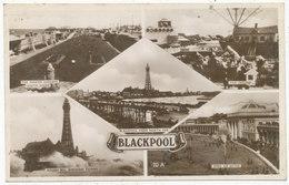 Blackpool Multiview Postcard - Blackpool