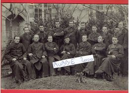 LORIENT 1908 1909 INSTITUTION SAINT LOUIS LES PROFESSEURS MORBIHAN PHOTOGRAPHIE ARGENTIQUE EN BON ETAT - Lieux