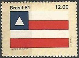 LSJP BRAZIL FLAG OF THE STATE OF BAHIA 1981 - Neufs
