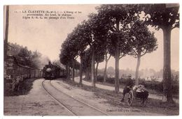 2244- La Clayette ( 71 ) - Ligne R.S.L. Au Passage D'un Train - ( L'étang Et Les Promenades ) - Combier éd. - N°11 - - Sonstige Gemeinden