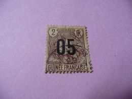 TIMBRE   GUINÉE    N  55     COTE  1,20  EUROS    OBLITÉRÉ - Oblitérés