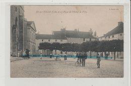 CPA  - IS SUR TILLE - Place De L'Hotel De Ville - Is Sur Tille