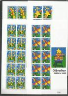 10x GIBRALTAR - MNH - Europa-CEPT - Celebrations - Children - 2000 - Europa-CEPT