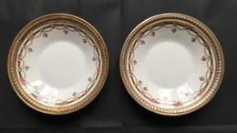 Coupelles En Porcelaine Dure & Argent. Manufacture Royale De Sèvres.  XVIII ème Siècle.  Château De Vincennes - Sèvres (FRA)
