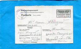 MARCOPHILIE-Carte Lettre De Prisonnier De Guerre -en Allemagne  >France Zone Non Occupée ?-cad Avr 1942  STALAG VI G - WW II