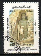 AFGHANISTAN. N°1258 Oblitéré De 1985. Bouddhas De Bâmiyân. - Buddhism