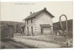 AIGUEPERSE - La Gare - France