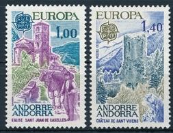 Andorra 282-283 Europamarken Einwandfrei Postfisch/** - Neufs