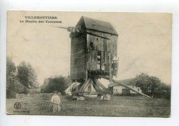 Moulin  Villemoutiers - France