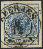 AUSTRIA HUNGARY  1850  9 Kr @ EPERJES OPM - Oblitérés