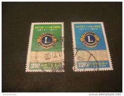 K8160- Set Used Rep. OF China- 1977- SC. 2062-2063- Int. Ass. Of Lions Club - 1949 - ... République Populaire