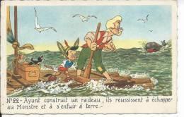 WALT DISNEY - PINOCCHIO - N° 22 - Pinocchio Et Gepetto - Disney