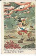 WALT DISNEY - PINOCCHIO - N° 19 - Pinocchio Et Jiminy Cricket - Disney