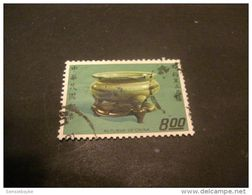 K8582- Stamp Used -   China- 1974- SC. 1868- Porcelain- $8 Green - 1949 - ... République Populaire