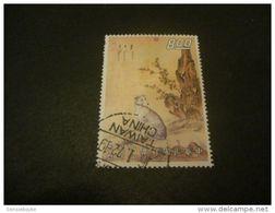 K8672- Stamp  - Used China-1971-SC. 1749-  Dog Sitting - $8 - 1949 - ... République Populaire