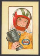93951/ Illustrateur CONTIJOCH, Jeune Homme, Moto Race - Illustratori & Fotografie