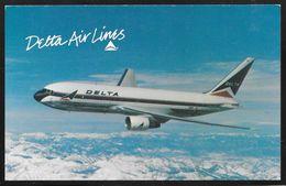 USA - Delta Airlines Postcard - Boeing 767 - Unposted - 1946-....: Modern Era