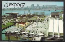 Canada - Expo67 Montreal - Official Card With Pavillion Cachets - Sent Airmail To Austria - Modern Cards