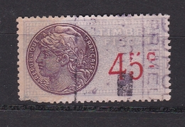 Fiscaux  Timbre Fiscal   N° 110 ° - Revenue Stamps