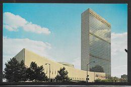 United Nations - New York Headquarters - Expo67 Slogan Postmark - Altri