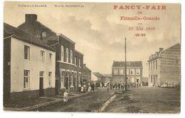 """2 -  Flémalle Grande - Place Profondval """" Fancy-Fair De Flémalle Grande 23 Mai 1909"""" - Flémalle"""