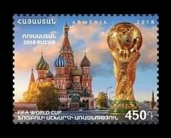Armenia 2018 Mih. 1067 Football. FIFA World Cup In Russia MNH ** - Armenia