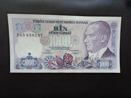 TURQUIE : 1000 LIRA  L.1970 (1986)   P 196    SPL - Turchia