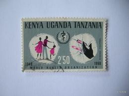 KENYA UGANDA TANZANIA 1968. W.H.O. World Health Organization. Family And Hypodermic Syringe. 2S 50. SG 251. Used - Kenya, Uganda & Tanganyika