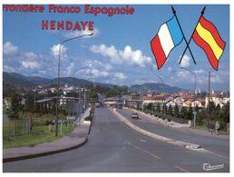 (ORL 80) France / Spain - Border - Hendaye - Douane - Dogana